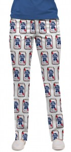 Pabst Blue Ribbon Cans Women's Capri/Trouser MTO