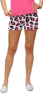 Pink Leopard StretchTech Women's Mini Short MTO