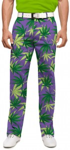Purple Herb StretchTech Men's Trouser MTO
