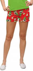 Santa's Little Helpers StretchTech Women's Mini Short MTO