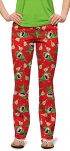 Santa's Little Helpers StretchTech Women's Capri/Trouser MTO