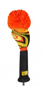 Shagadelic Black Driver Knit Head Cover
