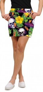 Skull Grotto StretchTech Women's Skort/Skirt MTO