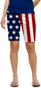 Stars & Stripes StretchTech Women's Bermuda Short MTO