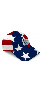 Stars & Stripes All-Over Cap