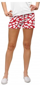 Saint George's Cross StretchTech Women's Mini Short MTO