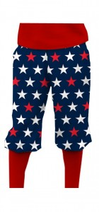 Superstar Navy StretchTech Knickerbockers MTO