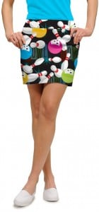 Gutter Ball StretchTech Women's Skort/Skirt MTO