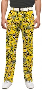Shagadelic Yellow Men's Trouser MTO