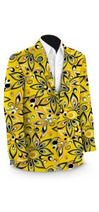 Shagadelic Yellow Men's Sport Coat MTO